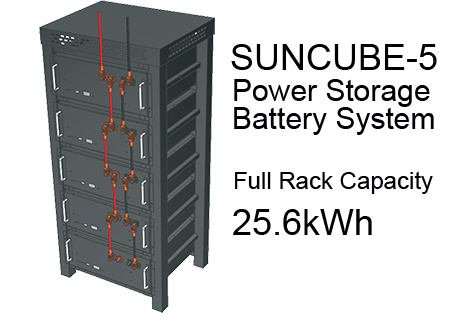 Cosun SUNCUBE-5 Full Rack Energy Storage Battery System 25.6kWh Featured Image