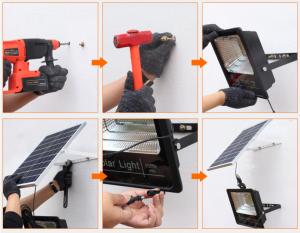 Solar LED Light Installation