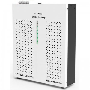 New EES Product Release: Cosun PowerESS 5.12kWh Compact Lifepo4 solar power storage battery system with active balance smart BMS