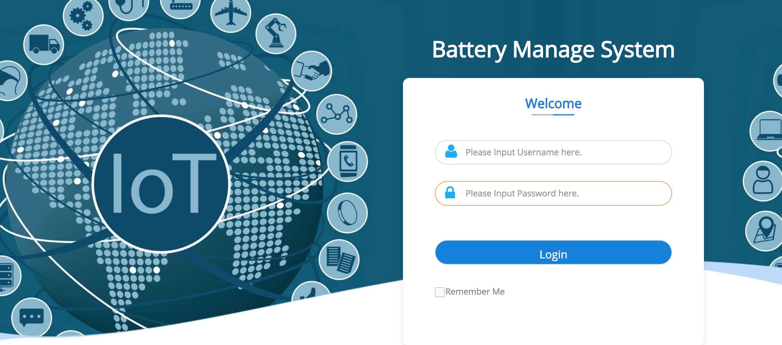 Cosun Battery Cloud Web-Portal